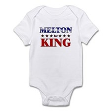 MELTON for king Infant Bodysuit