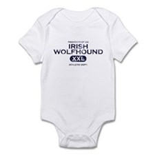 Property of Irish Wolfhound Baby Bodysuit
