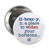"Library 2.25"" Button (100 pack)"