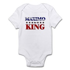 MAXIMO for king Infant Bodysuit