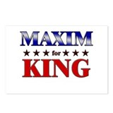 MAXIM for king Postcards (Package of 8)