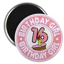 Birthday Girl #16 Magnet