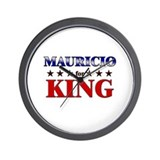 MAURICIO for king Wall Clock