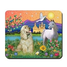 Fantasy /Cocker Spaniel Mousepad