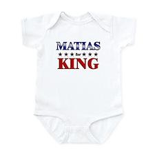 MATIAS for king Infant Bodysuit