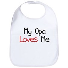My Opa Loves Me Bib