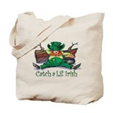 Catch an Irish Leprechaun Tote Bag