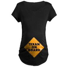 Texan on Board T-Shirt
