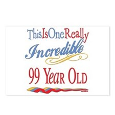 Incredible At 99 Postcards (Package of 8)
