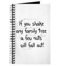 Shaking Family Tree (Black) Journal