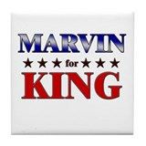 MARVIN for king Tile Coaster