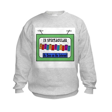 Retro TV Kids Sweatshirt