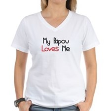 My Papou Loves Me Shirt