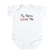 My Papou Loves Me Infant Bodysuit