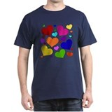 Rainbow Hearts T-Shirt