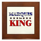 MARQUIS for king Framed Tile