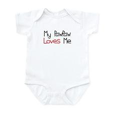 My PawPaw Loves Me Infant Bodysuit