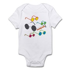 Imagine Glasses Colors Infant Bodysuit