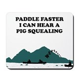 Funny Slogan Deliverance Mousepad