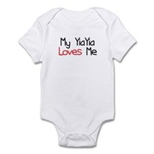 My YiaYia Loves Me Baby Onesie