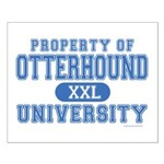 Otterhound University Small Poster
