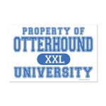 Otterhound University Mini Poster Print