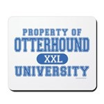 Otterhound University Mousepad