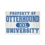 Otterhound University Rectangle Magnet (10 pack)