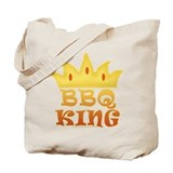 BBQ King Design Tote Bag