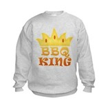 BBQ King Design Sweatshirt