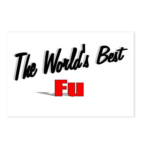 """The World's Best Fu"" Postcards (Package of 8)"