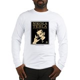Nikola Tesla Genius Long Sleeve T-Shirt