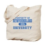 Newfie University Tote Bag