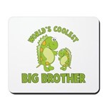 world's coolest big brother dinosaur Mousepad