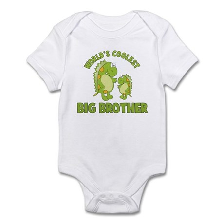 world's coolest big brother dinosaur Infant Bodysu