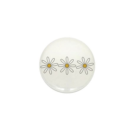 Daisies Mini Button