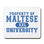 Maltese University Mousepad