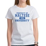 Maltese University Women's T-Shirt