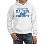 Maltese University Hooded Sweatshirt