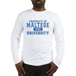 Maltese University Long Sleeve T-Shirt
