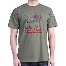 Incredible At 91 T-Shirt