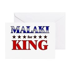 MALAKI for king Greeting Cards (Pk of 20)