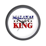 MALAKAI for king Wall Clock