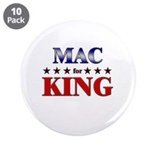 "MAC for king 3.5"" Button (10 pack)"