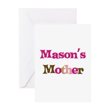 Mason's Mother Greeting Card