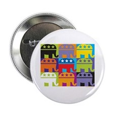 "Elephant Diversity 2.25"" Button"
