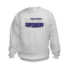 big brother t-shirt superhero Sweatshirt