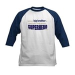 big brother t-shirt superhero Kids Baseball Jersey