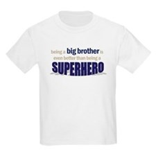 big brother t-shirt superhero T-Shirt