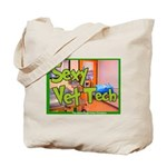 Sexy Vet Tech Tote Bag